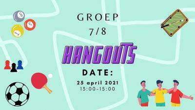 Hangout voor groep 7/8