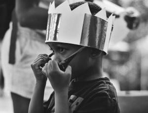 Kindermiddag in Sjaloom
