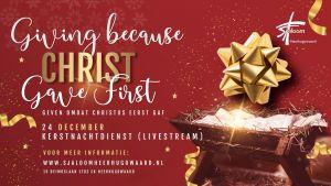Kerst in Sjaloom - geven omdat Christus eerst gaf