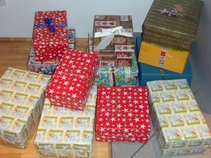 Kerstcadeaus voor Roemeense kinderen